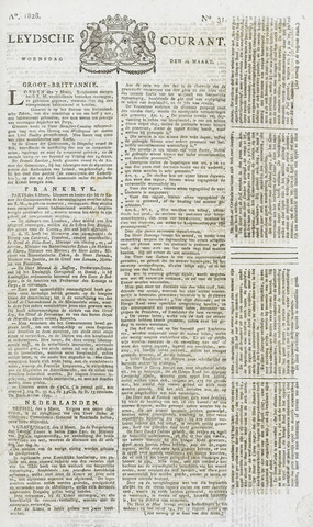 Leydse Courant 1828-03-12