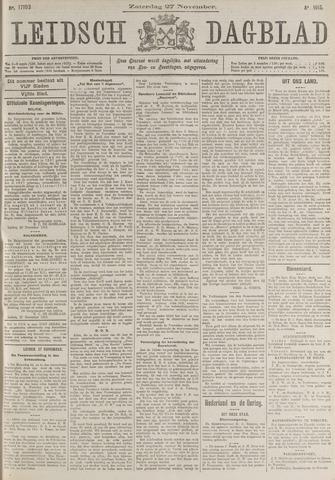 Leidsch Dagblad 1915-11-27