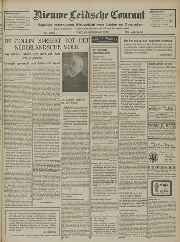 Nieuwe Leidsche Courant 1938-02-01