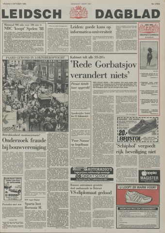 Leidsch Dagblad 1985-10-04