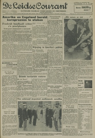 Leidse Courant 1958-08-23