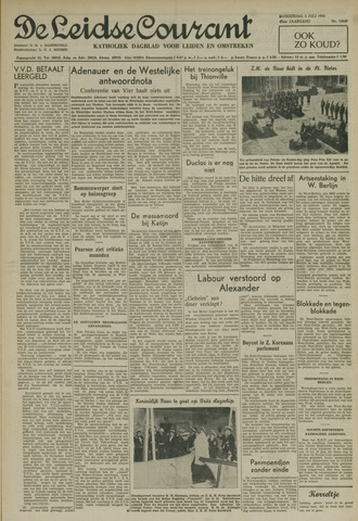 Leidse Courant 1952-07-03