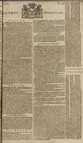 Leydse Courant 1773-09-13