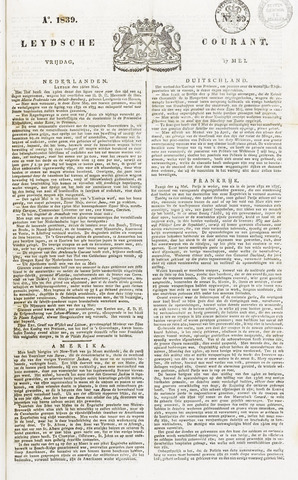 Leydse Courant 1839-05-17