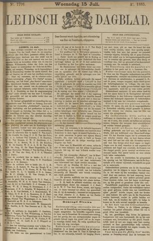 Leidsch Dagblad 1885-07-15