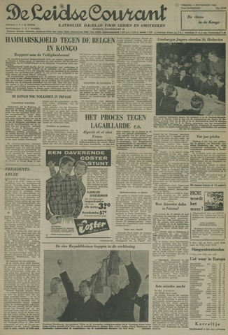 Leidse Courant 1960-11-04