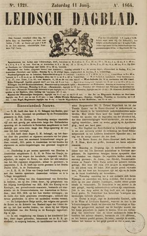 Leidsch Dagblad 1864-06-11