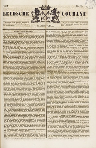 Leydse Courant 1862-07-07