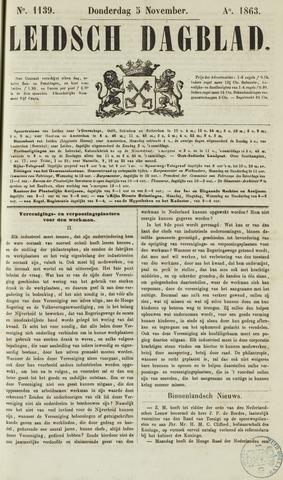 Leidsch Dagblad 1863-11-05