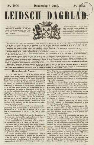 Leidsch Dagblad 1863-06-04