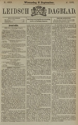 Leidsch Dagblad 1882-09-06