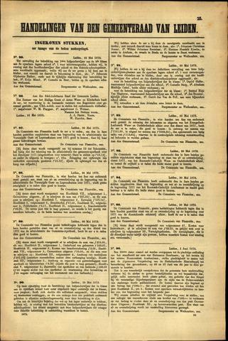 Handelingen van de Raad 1872-05-22