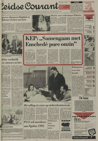 Leidse Courant 1988-11-17