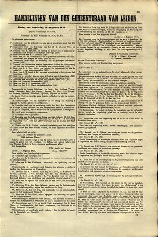 Handelingen van de Raad 1875-08-19