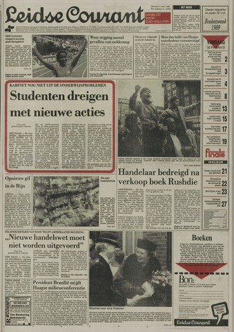 Leidse Courant 1989-03-04