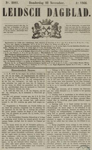 Leidsch Dagblad 1866-11-22