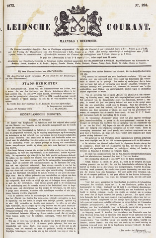 Leydse Courant 1873-12-01
