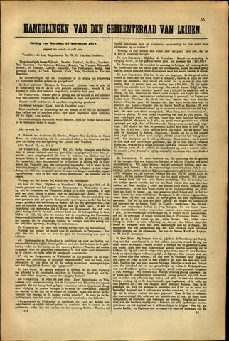 Handelingen van de Raad 1872-11-18