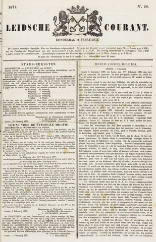 Leydse Courant 1871-02-02