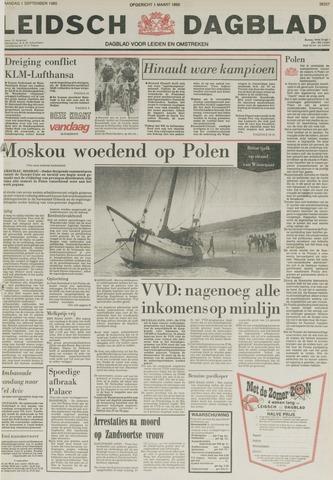 Leidsch Dagblad 1980-09-01
