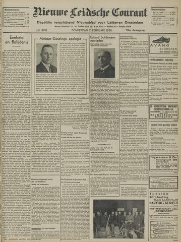 Nieuwe Leidsche Courant 1939-02-02