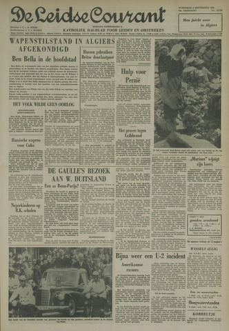 Leidse Courant 1962-09-05