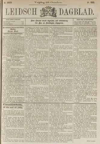 Leidsch Dagblad 1892-10-28