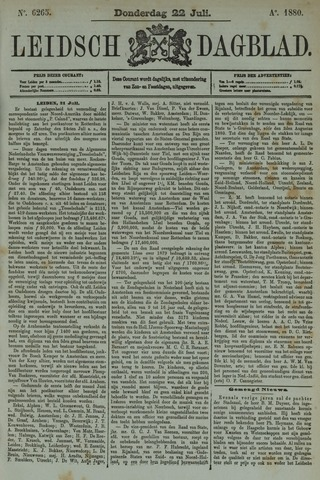 Leidsch Dagblad 1880-07-22