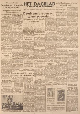 Dagblad voor Leiden en Omstreken 1944-08-09