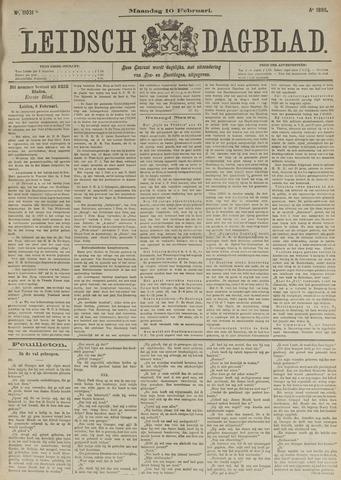 Leidsch Dagblad 1896-02-10