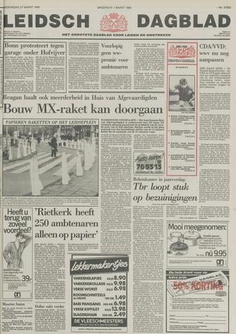 Leidsch Dagblad 1985-03-27
