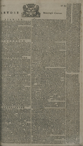 Leydse Courant 1745-07-19