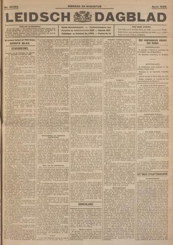 Leidsch Dagblad 1926-08-24