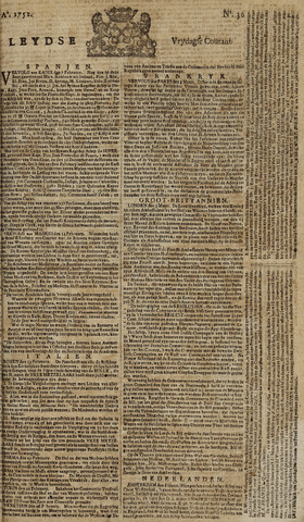 Leydse Courant 1752-03-10