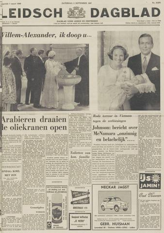 Leidsch Dagblad 1967-09-02