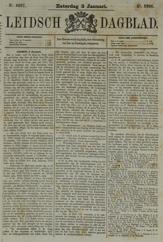 Leidsch Dagblad 1880-01-03