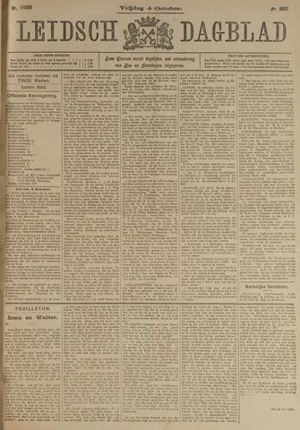 Leidsch Dagblad 1907-10-04