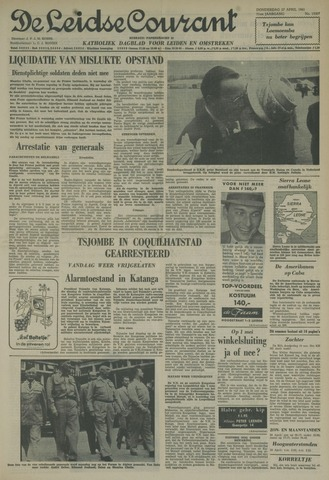 Leidse Courant 1961-04-27