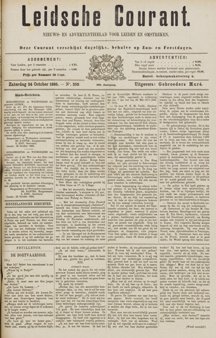 Leydse Courant 1885-10-24