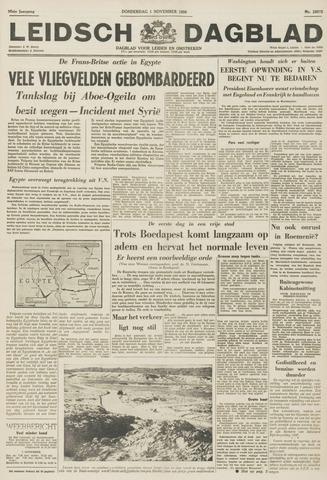 Leidsch Dagblad 1956-11-01