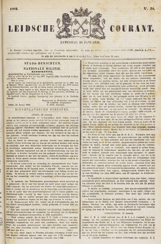 Leydse Courant 1882-01-28