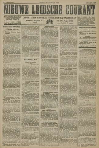 Nieuwe Leidsche Courant 1927-08-05