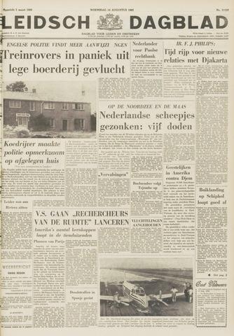 Leidsch Dagblad 1963-08-14