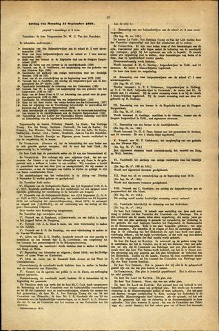 Handelingen van de Raad 1879-09-15