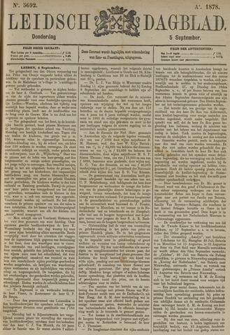 Leidsch Dagblad 1878-09-05