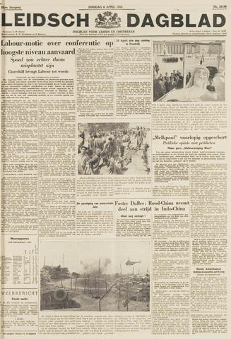 Leidsch Dagblad 1954-04-06