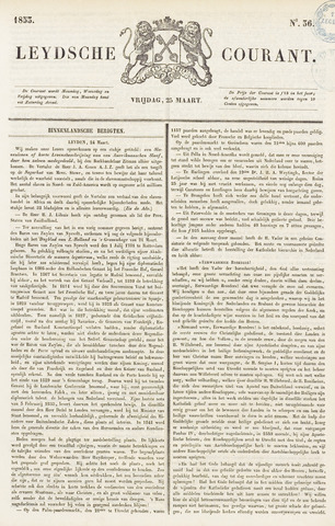 Leydse Courant 1853-03-25