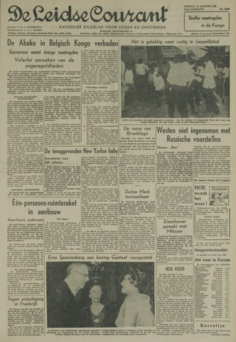 Leidse Courant 1959-01-13