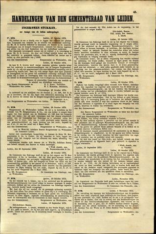 Handelingen van de Raad 1875-10-27