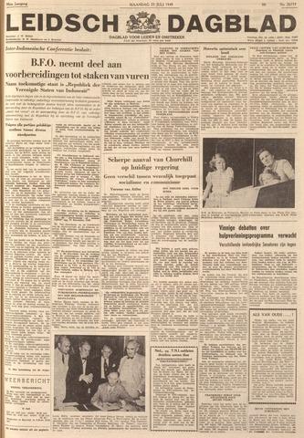 Leidsch Dagblad 1949-07-25